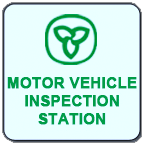 Motor Vehicle Inspection Station logo